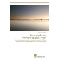 Rapamycin ALS Immunsuppressivum