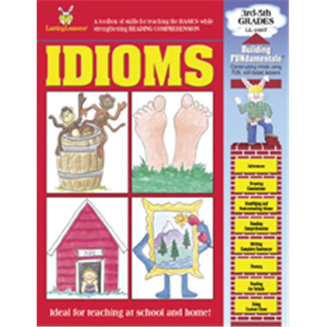 Barker Creek LL-1607 Idioms Activity Book