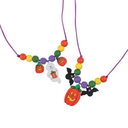 Halloween Necklace Craft Kit (Halloween Crafts For Children)