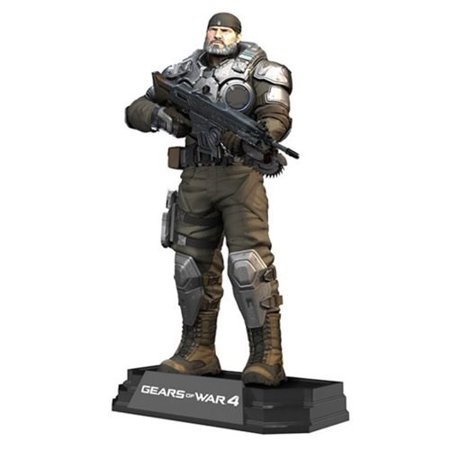 Gears of War 4 Marcus Fenix 7-Inch Color Tops Blue Wave 24 Action (Gears Of War 4 Best Weapons)
