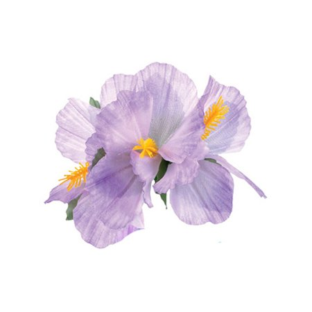 New Purple Adult Luau Hawaiian Flower Hibiscus Costume Accessory Hair (Hawaii Accessories)