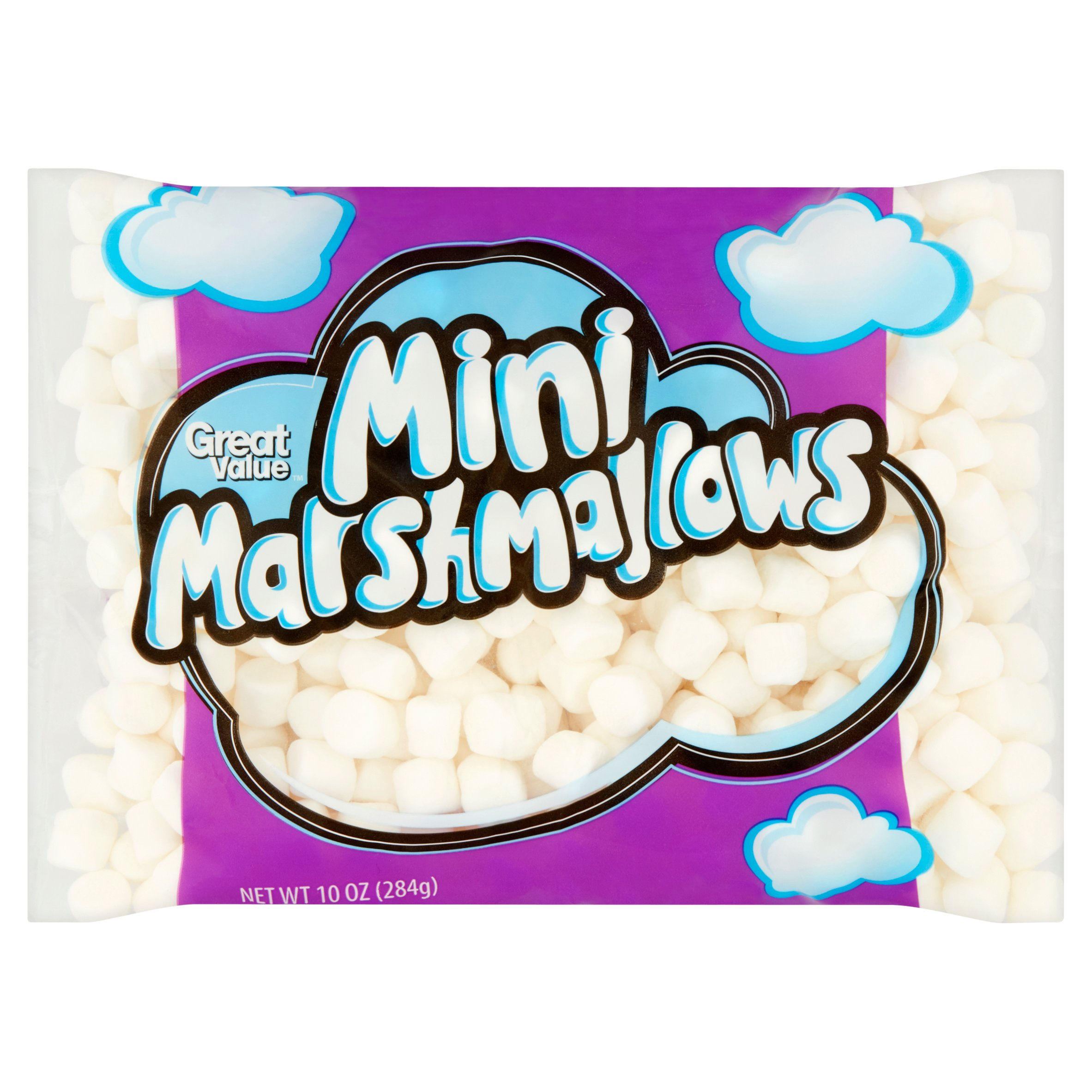 Great Value Mini Marshmallows, 10 oz