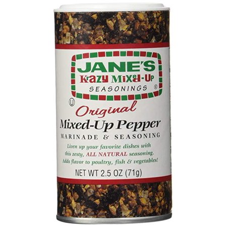 Original Pepper ((2 Pack) Jane's Krazy Mixed-Up Original Pepper, 2.5 oz )
