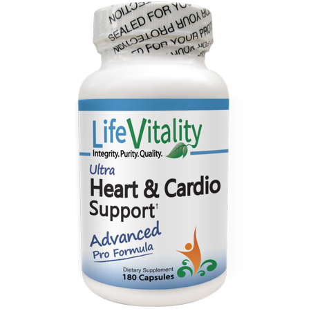 Life Vitality Ultra Heart and Cardio Support Supplement, 180 Capsules