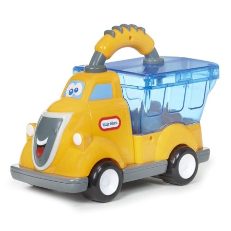 Pop Haulers- Billy Boulder - Push and Pop (Colors May Vary - Yellow, Orange or Green), 1 Tiny Tikes Pop Hauler (Colors May Vary - Yellow, Orange or Green) By Little Tikes