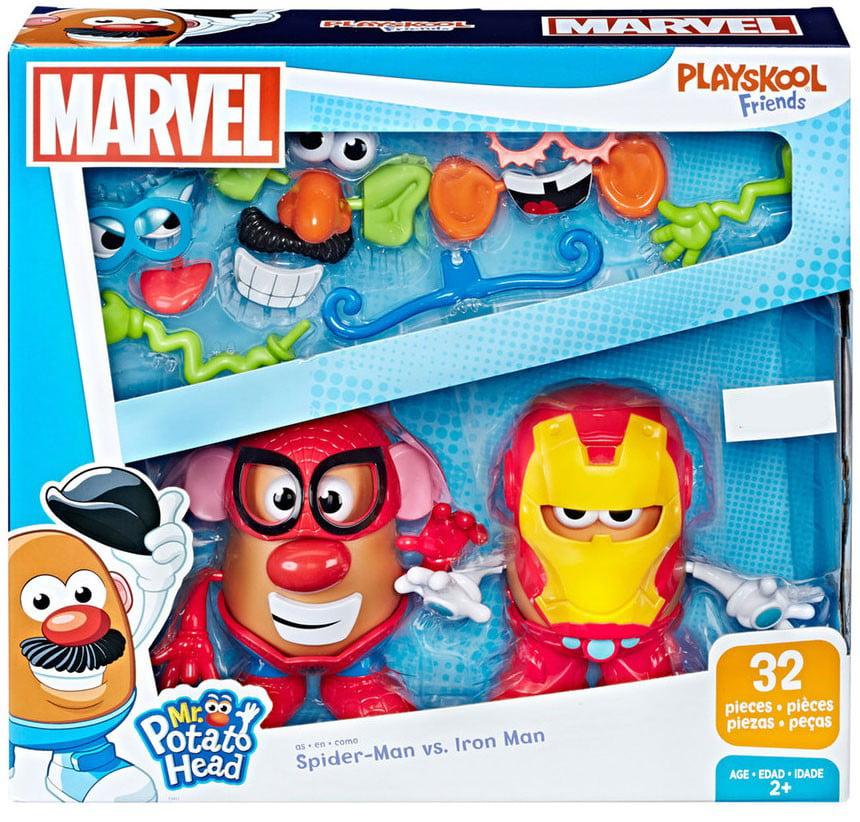 Marvel Playskool Friends Spider-Man vs. Iron Man Mr. Potato Head 2-Pack by