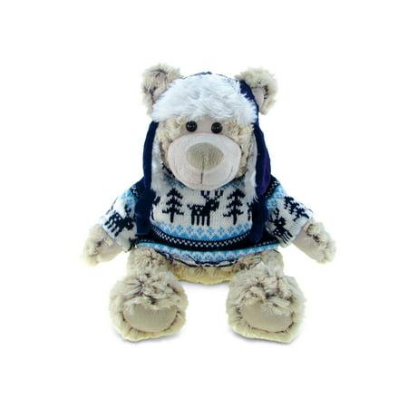 Super Soft Plush With Clothes - Polar Bear