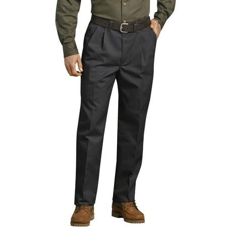 Big Men's Pleated Front Comfort-Waist Work Pant