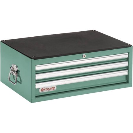 Grizzly h5653 3 drawer full depth tool chest for 12 inch depth dresser
