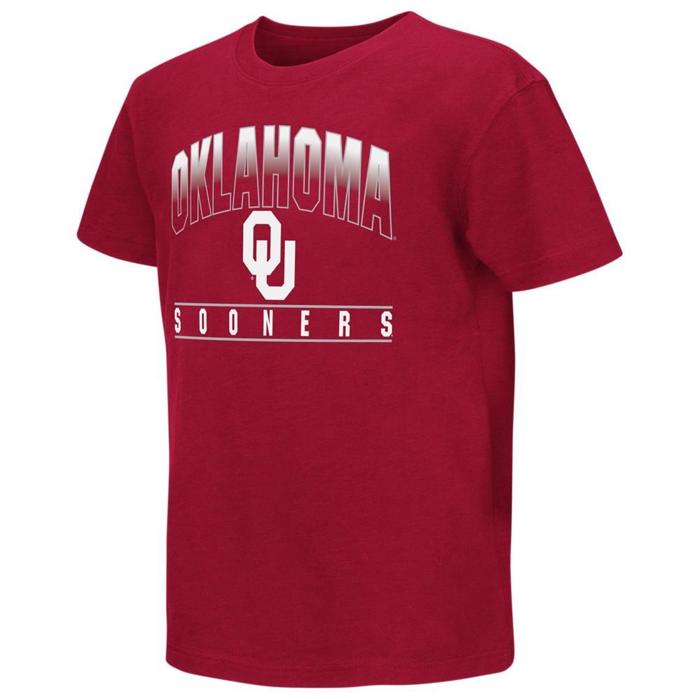 University of Oklahoma Sooners Youth Golden Boy Short Sleeve Tee