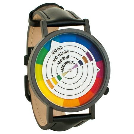 Color Wheel Art Graphic Designer Unisex Analog