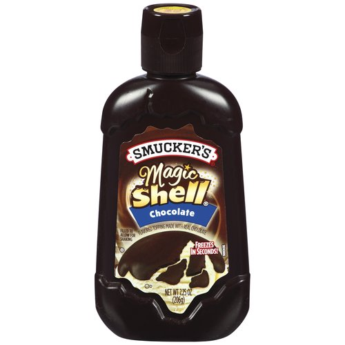 Smucker's Magic Shell Chocolate Toppings Magic Shell, 7.25 oz