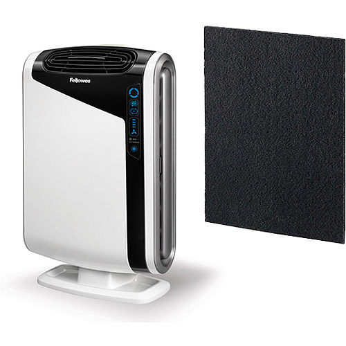 Fellowes AeraMax DX95 Air Purifier with FREE 4-Pack of Carbon Filters