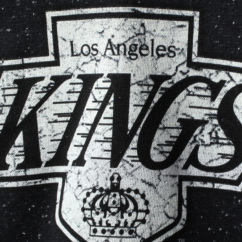 los angeles kings ccm women s lace-up henley t-shirt - black - Walmart.com b5bdc1ea5