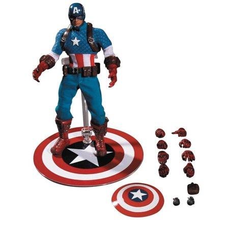 Captain America 1:12 Collective Action Figure for $<!---->
