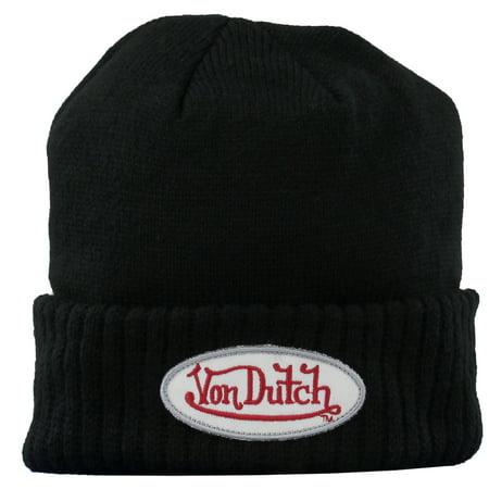 Von Dutch Mens Beanie  Casual  Beanie Osfa