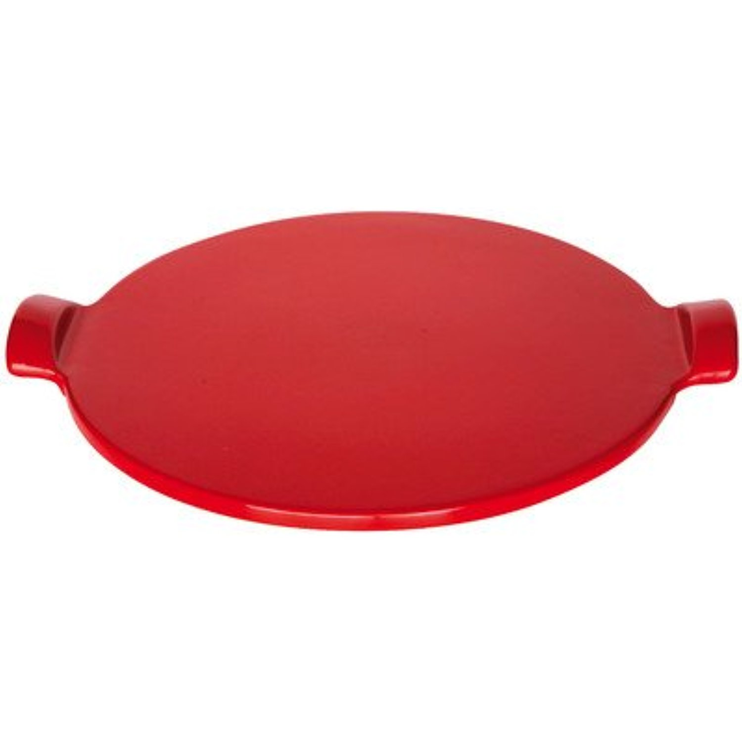 Emile Henry Flame Top Pizza Stone, Red by Emile Henry