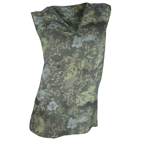 J Brand Nordstrom (J Brand Women's Green Camouflage Wool-Silk Sleeveless Top )