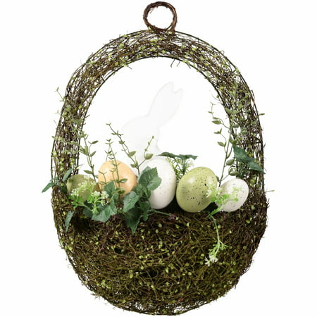 Egg Wreath (Easter Bunny Egg Basket Wreath)