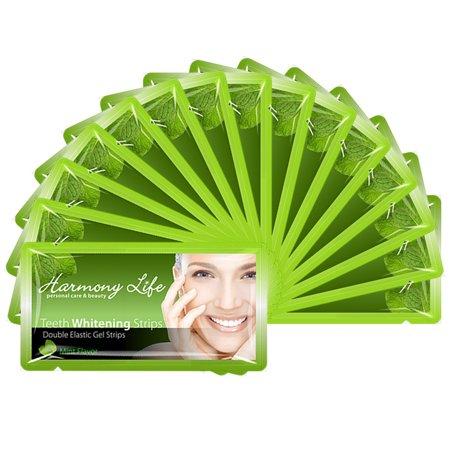 Teeth Whitening Strips 6%HP Professional Strength Dry Strips Custom Pro WhiteStrips Bleaching System Mint (Best At Home Whitening System)