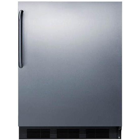 Summit 24-Inch 5.5 Cu. Ft. Compact Refrigerator With Towel Bar Handle ()
