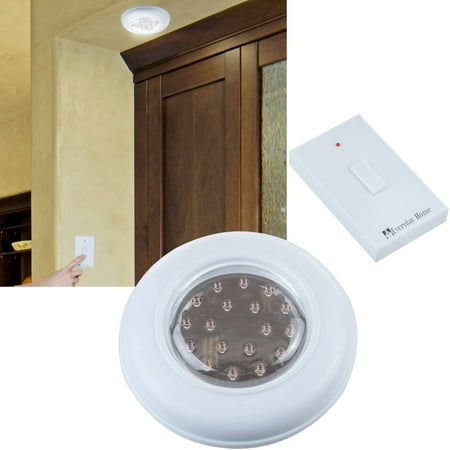 Cordless ceilingwall light with remote control light switch cordless ceilingwall light with remote control light switch aloadofball Images