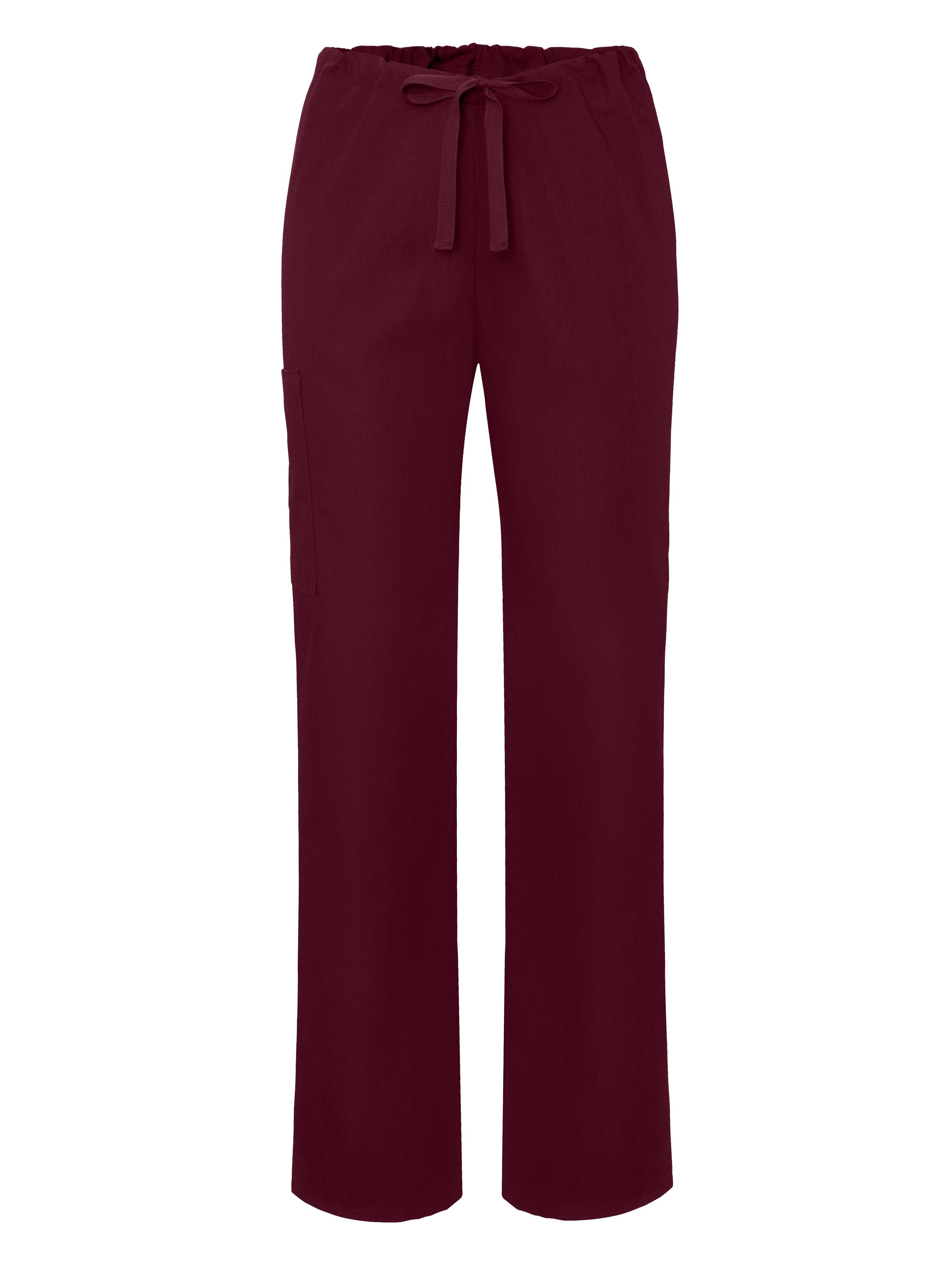 Adar Universal Unisex Natural-Rise Drawstring Tapered Leg Pants - 504 - Black - 5X