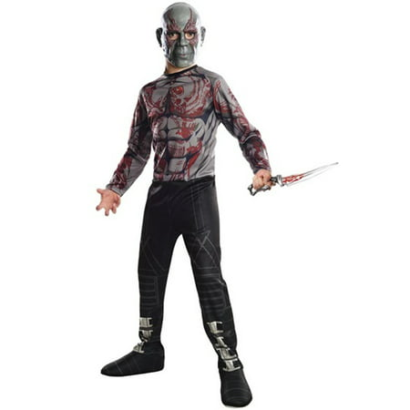 Drax the Destroyer Child Costume - Drax The Destroyer Halloween