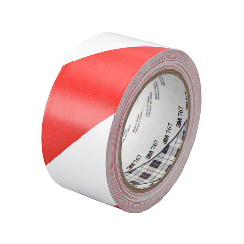3M COMPANY 767DC 2x36 RED/White SafeStripe