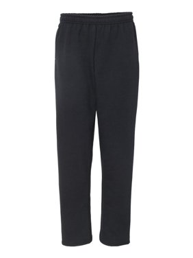 Heavy Blend? Open-Bottom Sweatpants with Pockets