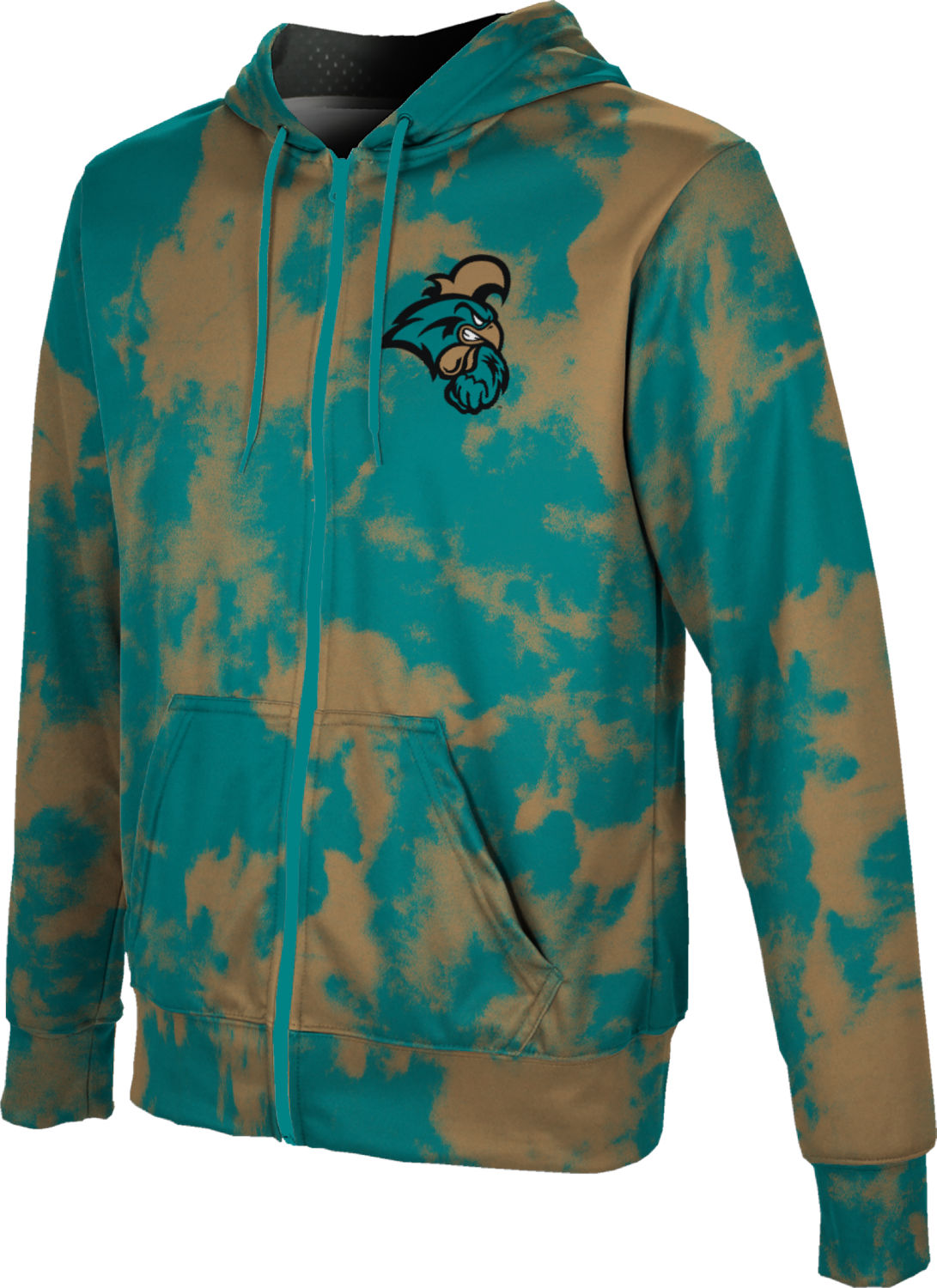 ProSphere Boys' Coastal Carolina University Grunge Fullzip Hoodie