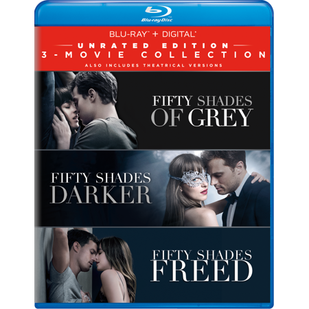 Fifty Shades: 3-Movie Collection (Unrated Edition) (Blu-ray + Digital) (VUDU Instawatch Included) for $<!---->