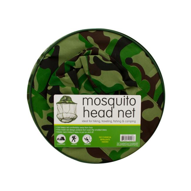Bulk Buys OD901-20 Mosquito Head Net Hat