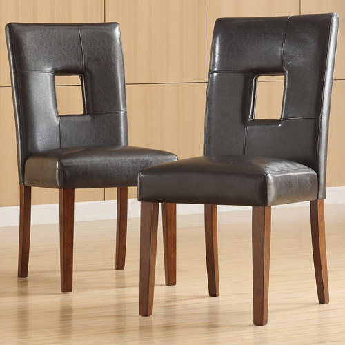 Top Line Madelin Faux Leather Chair, Set of 2, Multiple Colors