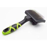 HelloPet USA - Small Self-Cleaning Slicker Brush
