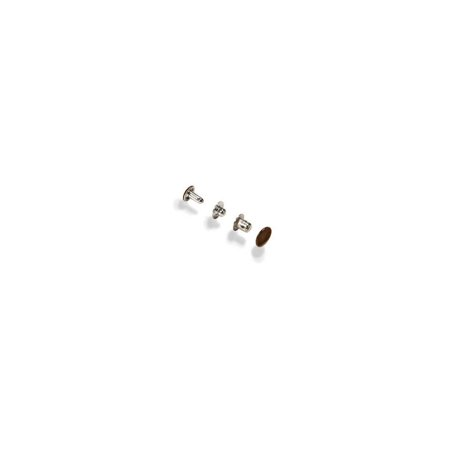 Tandy Leather Multi Purpose Snaps Brown Plated 10/pk 1250-02