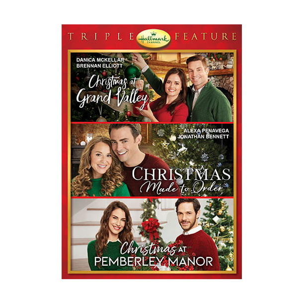 Hallmark Holiday Collection Triple Feature: Christmas At Grand Valley / Christmas Made to Order ...