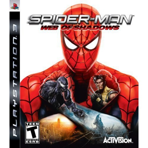 Activision Spider-man: Web Of Shadows Role Playing Game - Playstation 3