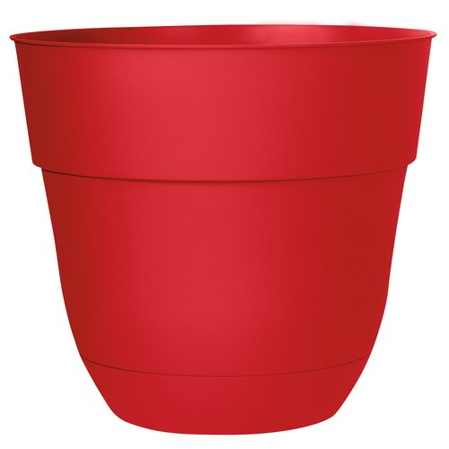 "Suncast Basic 15"" Planter, Red by Suncast"