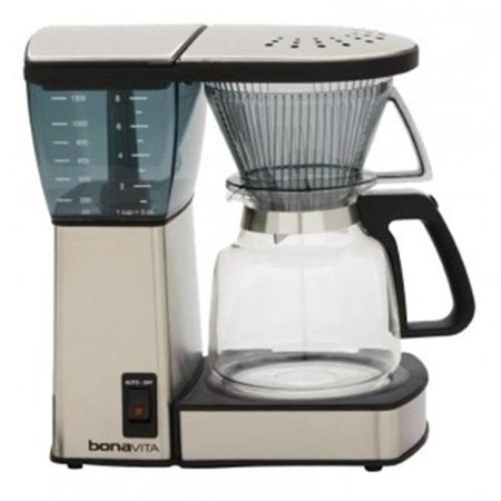 Espresso Supply BV1800 Bonavita 8 cup Coffee Maker, Glass Carafe - Walmart.com