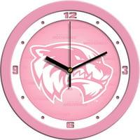 Suntime ST-CO3-UVU-PWCLOCK Utah Valley Wolverines-Pink Wall Clock