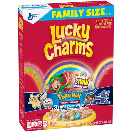 Lucky Charms  Gluten Free Cereal Family Size 20 5 Oz Box