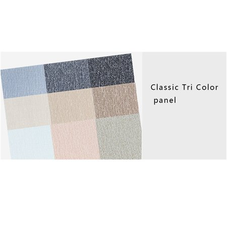Boyijia Placemat PVC Woven Anti-scald Waterproof Non-slip Heat-insulation Table Mat Gradient Color - image 7 of 8