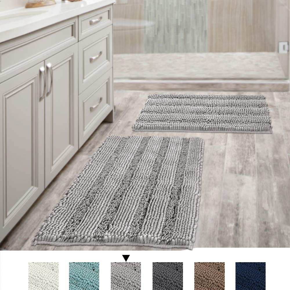 Luxury Chenille Bathroom Rug Mat