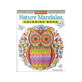 Design Originals Nature Mandalas Coloring Bk