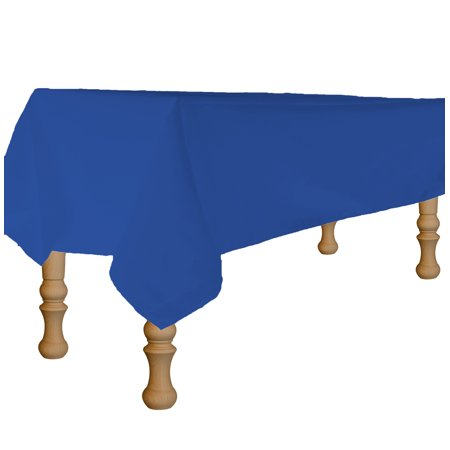 - Perfectmaze's Linen Tablecloth (Rectangle, Royal Blue, 90