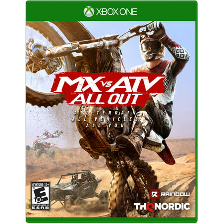 MX vs. ATV: All Out, THQ-Nordic, Xbox One, (Best Xbox Games Out Right Now)