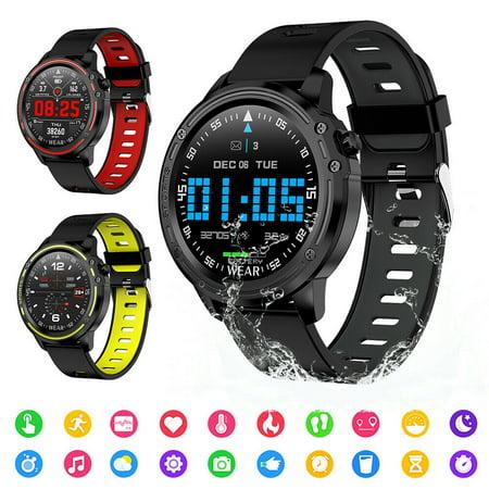 L8 Smart Bracelet Fitness Tracker ECG+PPG Blood Pressure Heart Rate Watch IP68 Waterproof Fitness Band Sports Bracelet -Yellow Sapphire Water Resistant Bracelet