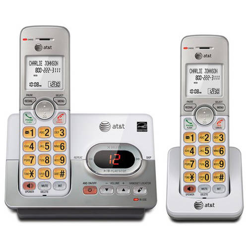 AT&T EL52203 DECT 6.0 2-Handset Cordless Answering System with Caller ID/Call Waiting