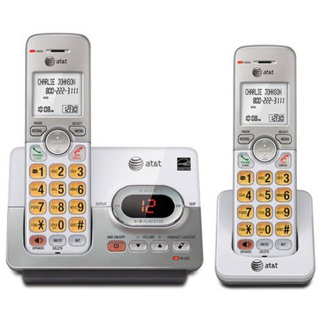 At El52203 Dect 6 0 2 Handset Cordless Answering System With Caller Id Call Waiting